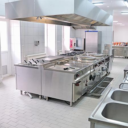 Reinigung Großküchen