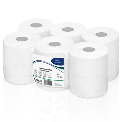 Toilettenpapier Jumbo, 2lag., hochweiß, ZS
