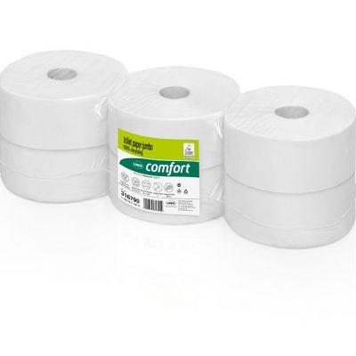 Toilettenpapier Jumbo, 2lag., hochweiß