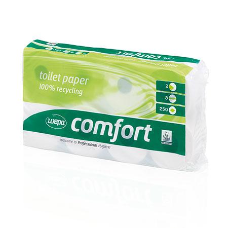 Toilettenpapier Tissue, 2lag., hochweiß